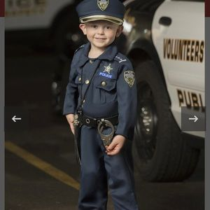 Police costume for children 6 pcs Size 2T
